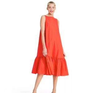 Sleeveless Ruffle Shift Dress